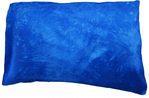 Jag Bag - Silk Pillowcase - Blue