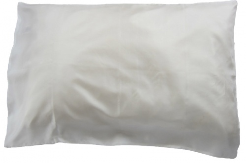 Jag Bag - Silk Pillowcase - White