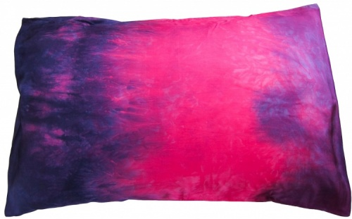 Jag Bag Silk Pillowcase - Cerise